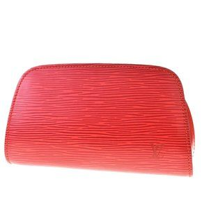 LOUIS VUITTON Dauphine PM Cosmetic Pouch Epi Leat